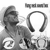 Househome Bluetooth Cuffie Creative Neck e Neck Hanging Speaker Bluetooth Portatile da Corsa