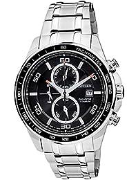 Citizen Eco-Drive Analog Black Dial Men's Watch - CA0341-52E