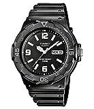 Casio Collection Herren-Armbanduhr MRW 200H 1B2VEF, schwarz/Schwarz