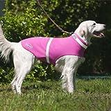 Corky 's Halsbänder see-me Dog Weste, mittel, Precious Pink