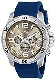 Invicta Pro Diver Men's Chronograph Quartz Watch with Silicone Strap – 24006