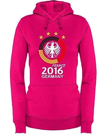 Deutschland EM 2016 Kreismotiv – Damen Hoodie
