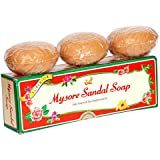 Mysore Sandal Soap, 150g (Pack of 3)