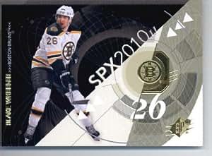 2010 / 11 Upper Deck SPX Hockey Card # 7 Blake Wheeler Bruins In a