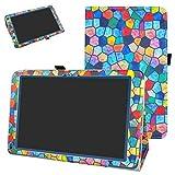 XIDO Z110/3G 10 Zoll Tablet hülle,Archos 101D Platinum / Archos 101b Helium hülle,Mama Mouth Folding Ständer Hülle Case mit Standfunktion für 10.1