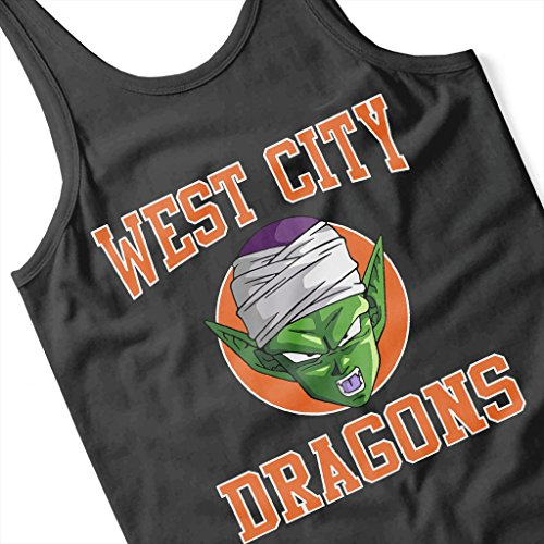 Cloud City 7 Team Krillin Dragon Ball Z Womens Vest Black