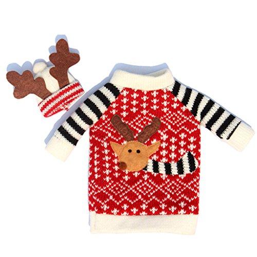 bolso-cubierta-envoltura-botella-de-vino-ciervo-decoracin-para-navidad-festival