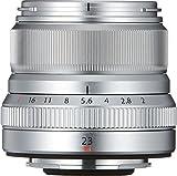 Fuji 23 mm XF f/2.0 R WR Lens - Silver