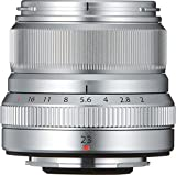 Fujifilm FUJINON Lens XF 23 mm F2 R WR - Objetivo, Color Plateado