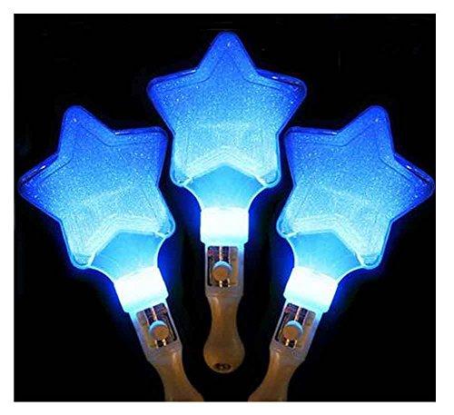 ks, für Party Supplies, Festivals, Stars [Blue] (Bulk-glühen-stock)