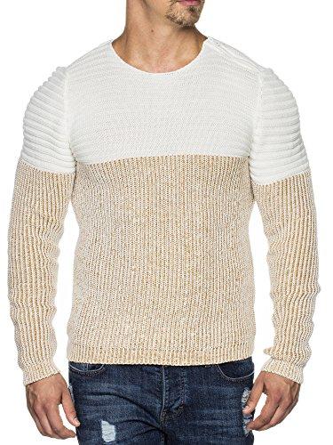 Tazzio - Pull - Homme Ecru