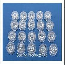 DDGE DMMS 25 - Carretes de plástico para máquina de Coser (para Singer Brother Janome