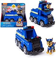 PAW PATROL Ultimate Rescue   Selección de Vehículos con Figura del Juego   Patrulla Canina, Figura:Chase Coche
