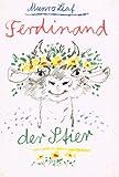 Ferdinand, der Stier. Deutsch von Fritz Güttinger. Mit der Hand geschrieben und illustriert von Werner Klemke.