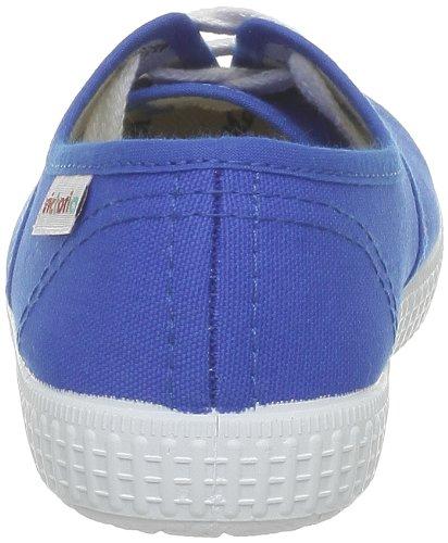 Victoria Inglesa Lona, Damen Sneaker Bleu (Francia)