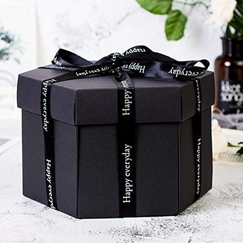 Supplies - Diy Love Explosion Box Valentine 39 S Day Gift Photo Album Happy Memory Multi Layer Birthday - & Box Album Box Birthday Box Booth Gift Craft Mario Box Paper Bag ()