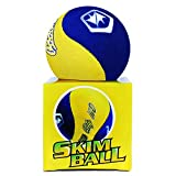 Water Bouncing Ball, Stress Ball, Riduttore di Tensione, WIN.MAX Water Bouncing Ball per piscina e mare, Sport all' Aperto, Fun Water Sports Game per famiglia e amici, Bambini e Adulti, Palla di decompressione per alleviare lo stress, Diametro 5.5mm (Giallo)