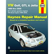 HM VW Golf GTI & Jetta 1999-2005 (Haynes Repair Manual (Paperback))