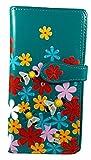 Shagwear portafoglio per giovani donne , Large Purse : Diversi colori e design: (Giardino dei bombi / Bumble Bee Garden)