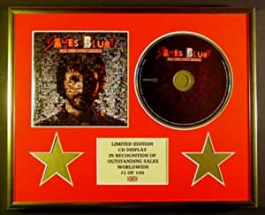 JAMES BLUNT/CADRE CD/EDITION LIMITEE/CERTIFICAT D'AUTHENTICITE/ALL THE LOST SOULS