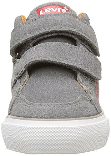 Levi's Patch, Sneakers Hautes Garçon Gris (Gris/Marine)