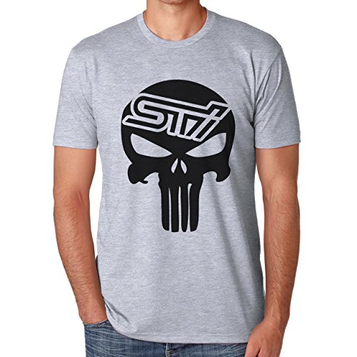 subaru-sti-skull-automotive-jdm-small-herren-t-shirt