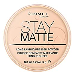 Rimmel London Stay Matte Pressed Powder, Warm Beige, 14g