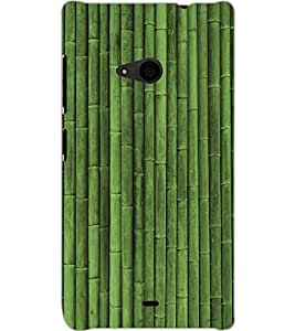 MICROSOFT LUMIA 535 DUAL PIPES Back Cover by PRINTSWAG