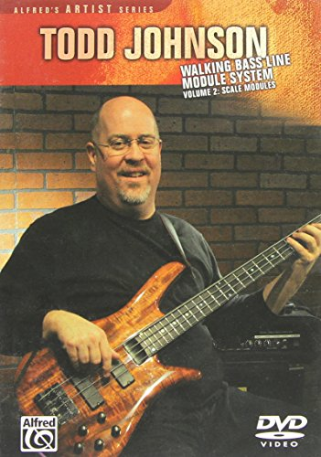 Todd Johnson Walking Bass Line Module System, Volume 2 Co-line Modul