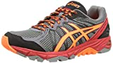 ASICS Gel-Fujitrabuco 3,  Herren Laufschuhe Training,  Braun (Onyx/Flash Yellow/Flash Orange 9907), 42 EU (7.5 UK)