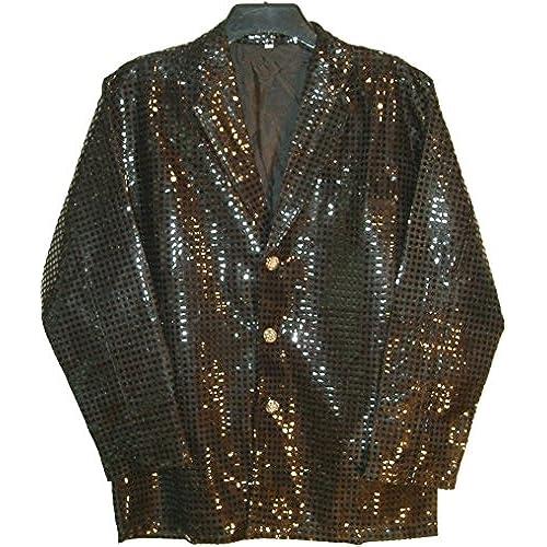 Very black sequin jacket