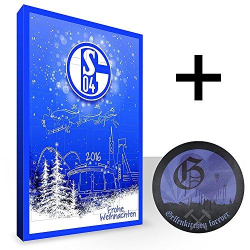 Schalke 04 Kalender, Adventskalender, Weihnachtskalender - Fairtrade-zertifiziert © S04