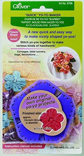 Clover Quick Jo-Jo Maker für Stoffblumen, klein