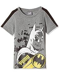 Puma-Camiseta para niño, diseño de Batman Medium Gray Heather FR: 10 años (talla 140)