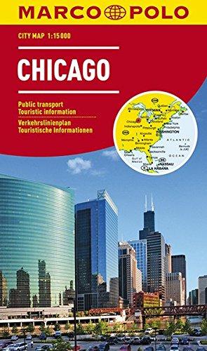 MARCO POLO Cityplan Chicago 1:15 000: Stadsplattegrond 1:15 000 (MARCO POLO Citypläne)
