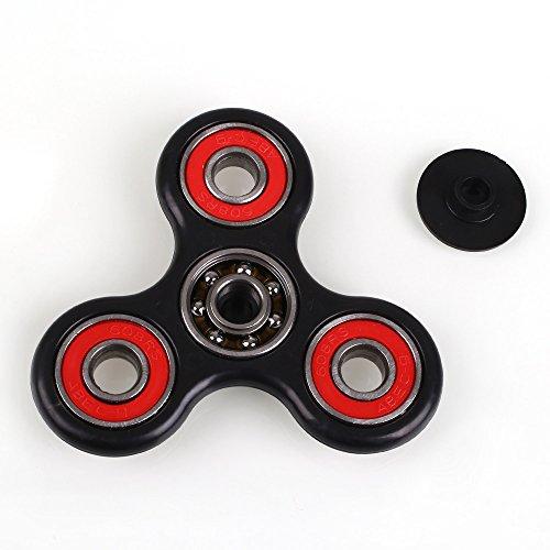 Anself Tri Fidget Dito Mano Spinner Spin Widget Fuoco Giocattolo EDC Tasca Desktoy del Regalo per Bambini Adulti - 4