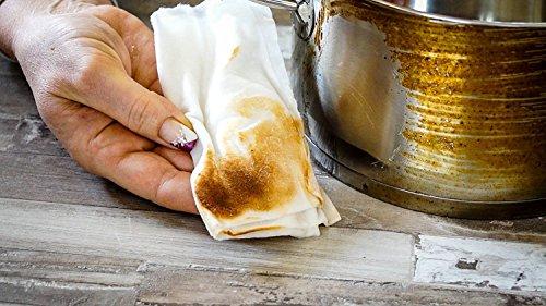 KochWunder Bamboo Küchenrolle - waschbare Haushaltstücher, umweltfreundliche Papiertücher, ersetzt mehrere Haushaltsrollen saugstärker und reißfester als herkömmliche Küchentücher (3tlg.) - 2