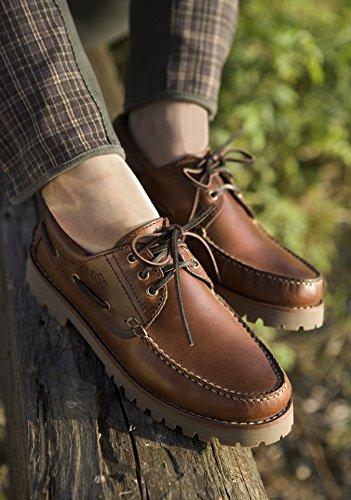 """Bootsschuh """"Meadow"""" braun"""