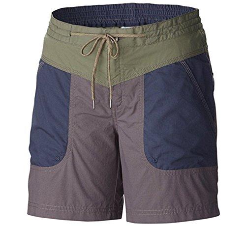 Columbia Damen Down The Path Short Größe Plus - Violett - 22W- 10 cm Womens Plus Columbia Sportswear
