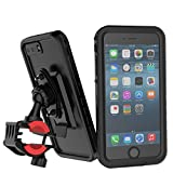 Wasserdicht Hülle Bike Mount Fahrrad Halter für iPhone 7 Plus, Fahrrad Handyhalterung,Eine Taste freigegeben,360 Grad drehbar,CASEWIN stoßfest waterproof case cover for iPhone 7 Plus