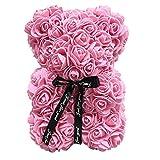 Rose Teddybär Puppe simuliert PE Blume für immer künstliche Rose Geburtstag Valentinstag Dekoration einzigartige Geschenke