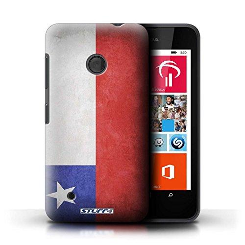 Kobalt® Imprimé Etui / Coque pour Nokia Lumia 530 / Suède/suèdois conception / Série Drapeau Chili/Chiliean