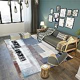 North King Teppich,Abstrakt, Teppich Couchtisch Schlafzimmer Bett Matte
