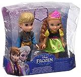 Giochi Preziosi - Frozen: Anna e Kristoff Mini Bambole, Altezza 15 cm