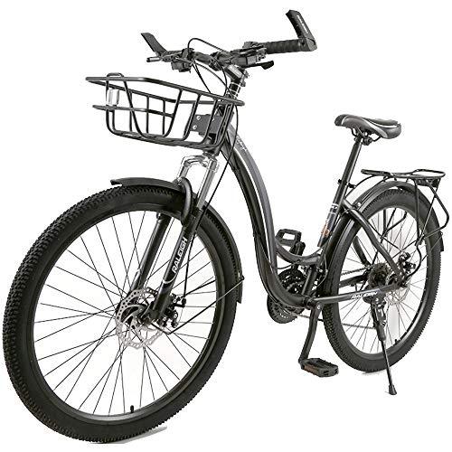 AI CHEN Mountainbike Fahrrad Geländerennen Speedable Frauen Erwachsene Männliche Studenten 24 Zoll 26 Zoll