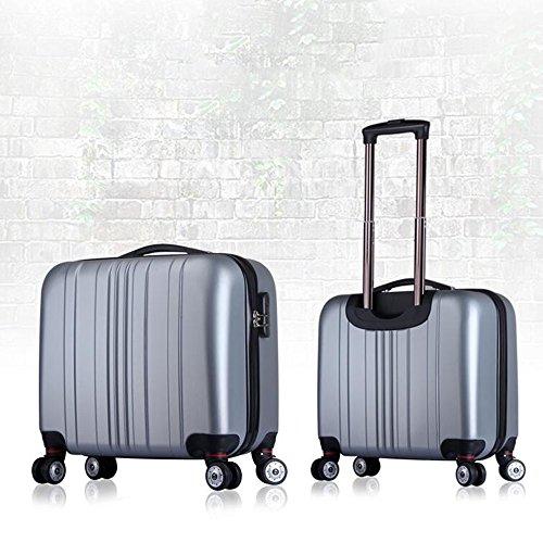 Licht 16 Zoll Mini Reise Gepäck Passwort Box Universal - Round Trolley Taschen ( Farbe : 8 ) 6