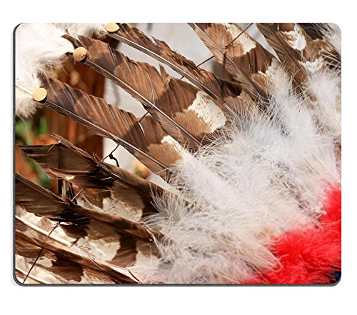luxlady Gaming Mousepad Bild-ID: 32978095 Native American Indianer Häuptling (Kopfschmuck Native)