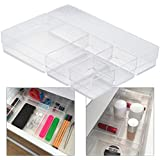 Love of order organizing system, for storage, for kitchen, office dressing table, cosmetics, variable and transparent plastic