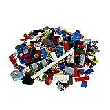 Bausteine gebraucht 600 Teile Lego System Steine Kiloware bunt Gemischt 0,80 kg z.B. Räder Platten Fenster Etc. k2