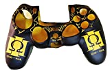 Hytech Plus PS4 God of War Special Edition Theme Feather Soft DualShock 4 Silicone Sleeve- Yellow